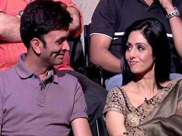 फाईल फोटो- हरीश अय्यरसोबत एका कार्यक्रमात अभिनेत्री श्रीदेवी... - Divya Marathi