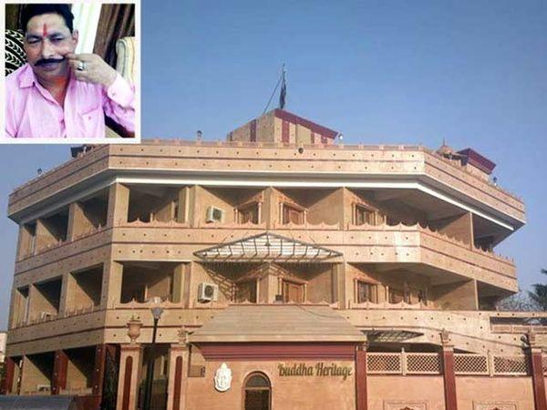पाटणा येथील स्थित अनंत सिंह यांचे आलीशान हॉटेल - Divya Marathi