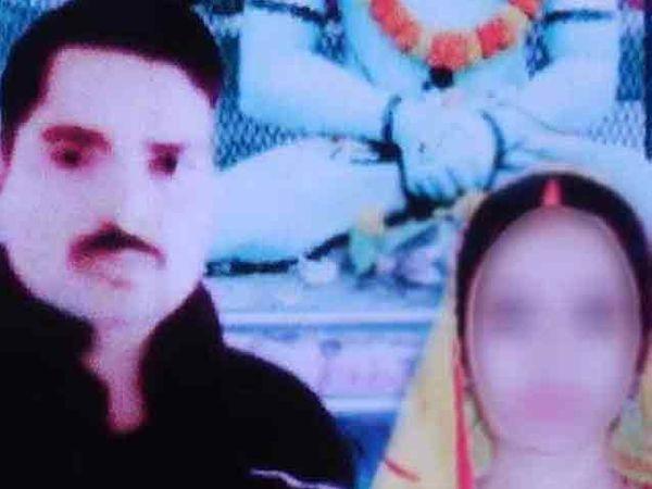 पीडिता आणि आरोपी पती - Divya Marathi