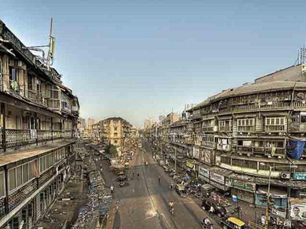 मुंबई शहरातील आताचा भेंडीबाजार - Divya Marathi
