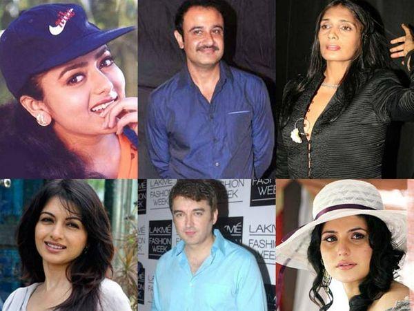 (फाइल फोटो: सौंदर्या, विवेक मुश्रान, अनु अग्रवाल, भाग्यश्री, जुगल हंसराज, झरीन खान) - Divya Marathi