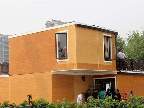 थ्रीडी प्रिंटिंगद्वारे तयार करण्यात आलेले घर. - Divya Marathi
