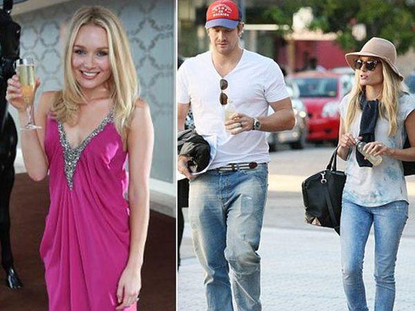 ऑस्ट्रेलिअन क्रिकेटर शेन वॉटसन आणि त्याची पत्नी ली फरलॉन्ग. - Divya Marathi
