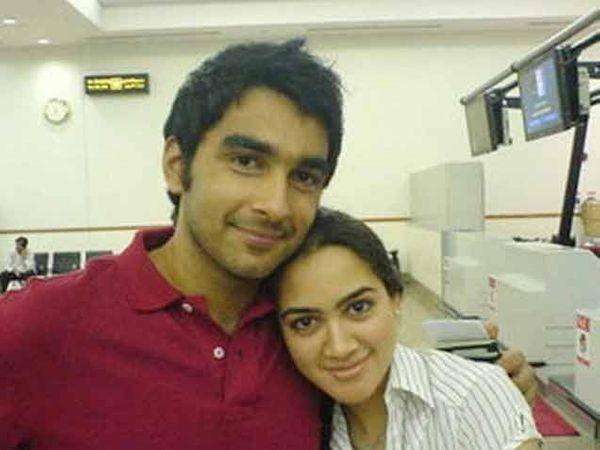 दाऊदची कन्या माहरुख आणि जावई जुनैद - Divya Marathi