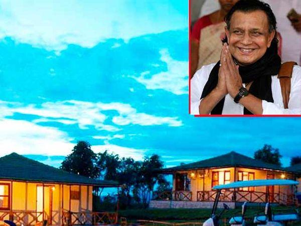 मसिनागुडीमध्ये मिथुन यांचे हॉटेलचा एक बंगला - Divya Marathi