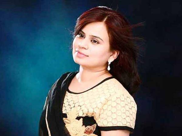 अंकिता शर्मा प्रदेश महिला काँग्रेस सचिव आहे. - Divya Marathi