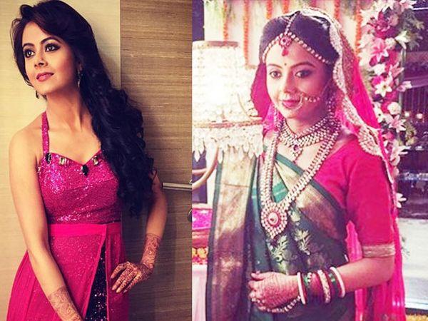 ऑनस्क्रिन नेहमीच साडी आणि सूटमध्ये दिसणारी देवोलिना खासगी आयुष्यात ग्लॅमरस आहे. - Divya Marathi