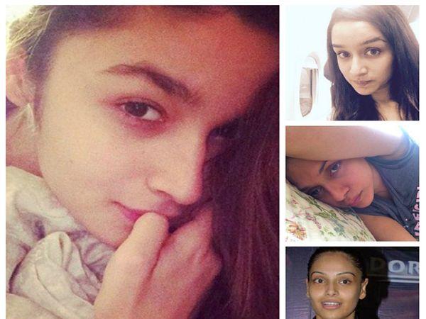 विना मेकअपमध्ये बॉलिवूड अभिनेत्री - Divya Marathi