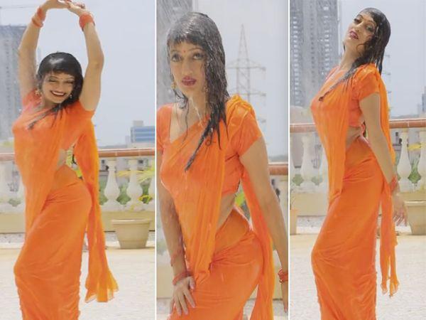 अभिनेत्री मानसी नाईक - Divya Marathi