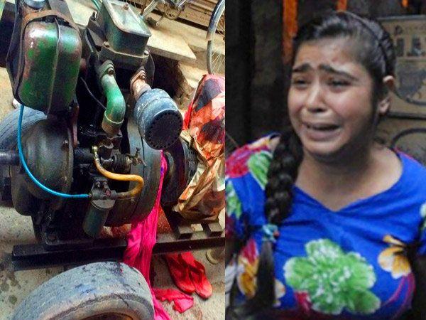 सुनिताच्या मृत्यूमुळे तिचा परिवार असा शोकाकूल झाला आहे. - Divya Marathi