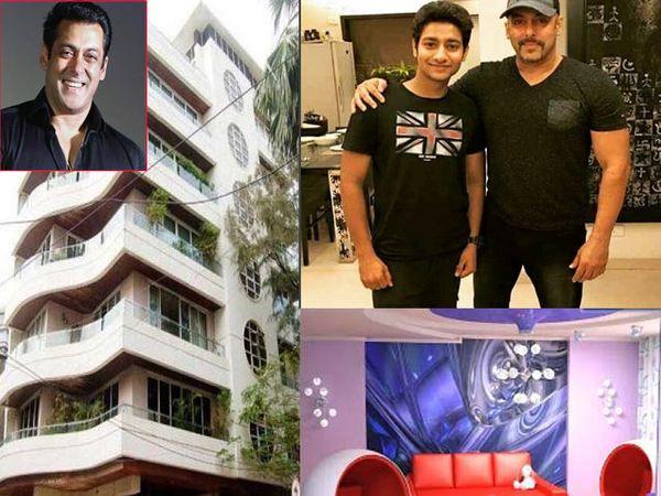 अभिनेता आकाश ठोसरने अलीकडेच सलमानच्या घरी जाऊन त्याची भेट घेतली होती. - Divya Marathi