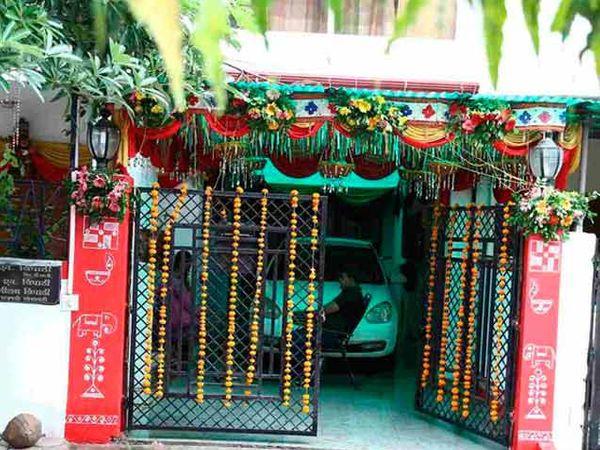 दिव्यांका त्रिपाठीचे घर - Divya Marathi