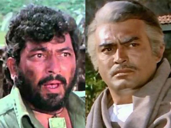 (फोटोमध्ये गब्बर सिंह अर्थातच अमजद खान आणि ठाकुर अर्थातच संजीव कुमार) - Divya Marathi