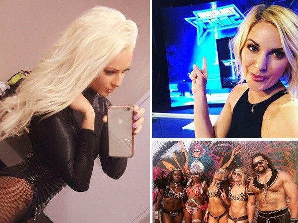 WWE स्टार्सनी गेल्या आठवडाभर प्रचंड मस्ती केली. - Divya Marathi