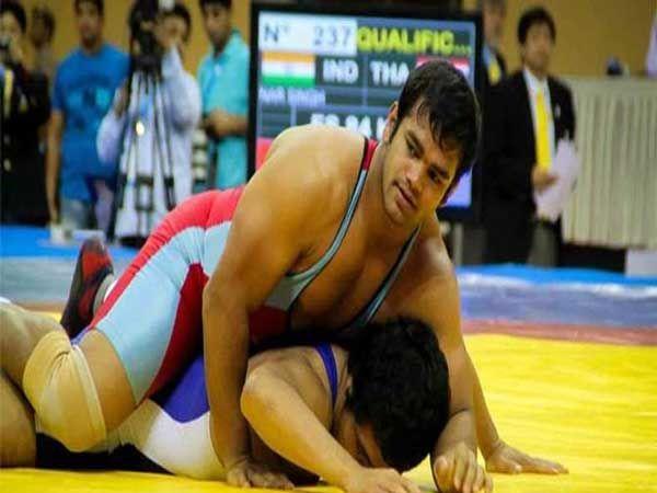 भारताचा कुस्तीपटू नरसिंग यादवचे ऑलिंपिकमध्ये खेळण्याचे स्वप्न भंगले आहे. - Divya Marathi