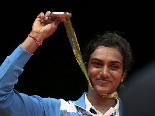 ऑलिंपिक विजेती खेळाडू पी. व्ही. सिंधू - Divya Marathi