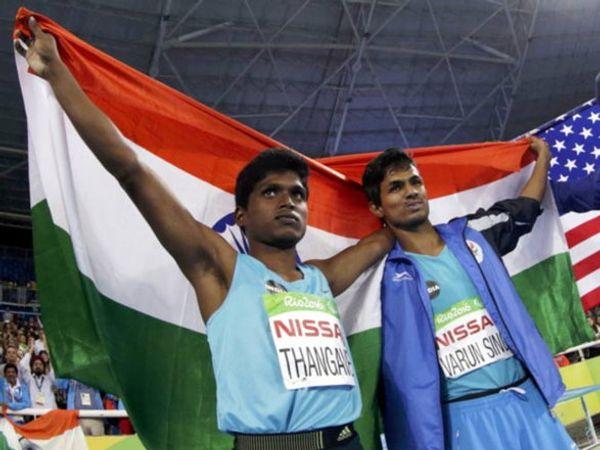 मरियप्पन थंगावेलुने गोल्ड तर वरुण सिंग भाटीने ब्राँझ मेडल जिंकले आहे. - Divya Marathi