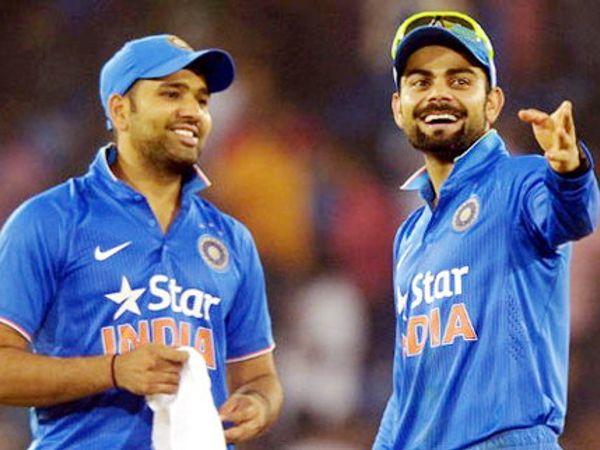 वनडेच्या खेळाडूला कसोटीत अधिकाधिक संधी मिळाली पाहिजे, असे सांगत कर्णधार विराट कोहली रोहित शर्मासाठी हट्ट धरला. निवड समितीने त्याचा हट्ट पूर्ण केला. - Divya Marathi