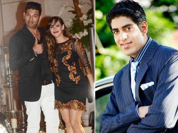युवराज सिंग, हेजल कीच आणि जोरावर सिंग... - Divya Marathi