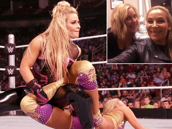 WWE फीमेल रेसलर नताल्याला स्मॅकडाउन दरम्यान दुखापत झाली. - Divya Marathi