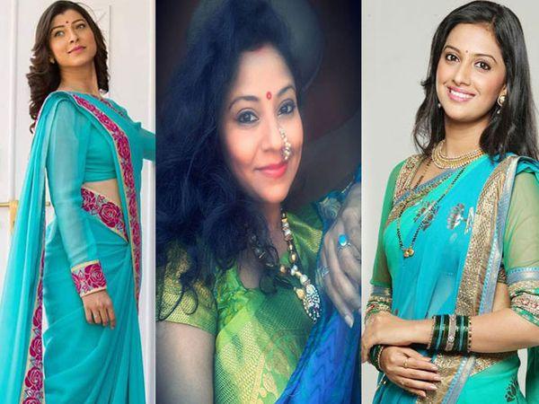 अभिनेत्री तेजस्विनी पंडीत, स्वाती देवल, तेजश्री प्रधान - Divya Marathi