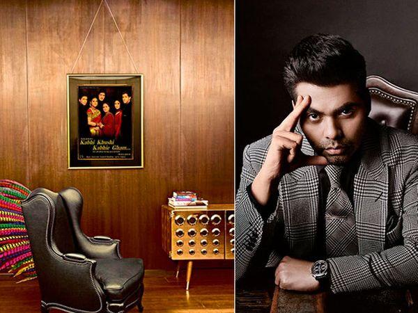 आतून असे दिसते करण जोहरचे आलिशान ऑफिस - Divya Marathi