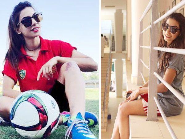 पाकिस्तानची 20 वर्षाची युवा फुटबॉलर शाहलैला बलोच हिचा कार अपघातात मृत्यू झाला. - Divya Marathi
