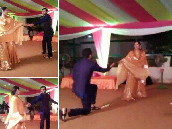 आपल्या बहिणीच्या लग्नात नव-यासोबत अशी नाचली सानिया मिर्झा... - Divya Marathi