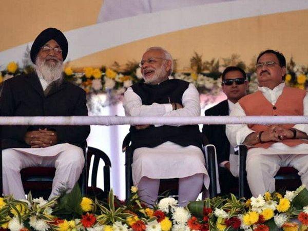 भठिंडा येथे पंतप्रधान मोदींच्या हस्ते एम्स हॉस्पिटलचे भूमिपुजन झाले. - Divya Marathi