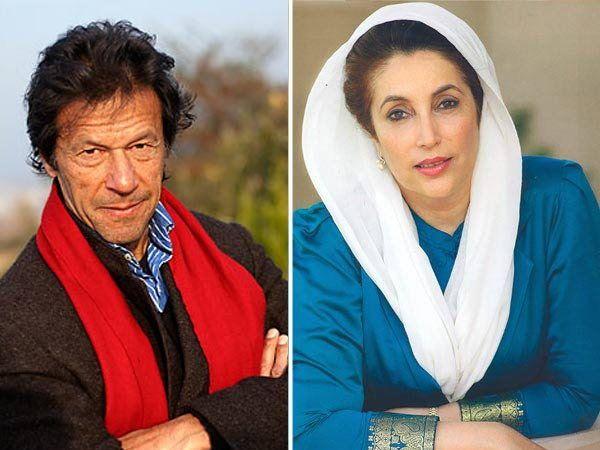 इमरान खानचे पाकिस्तानची माजी पंतप्रधान बेनजीर भुट्टोसोबतही अफेयर राहिले. - Divya Marathi