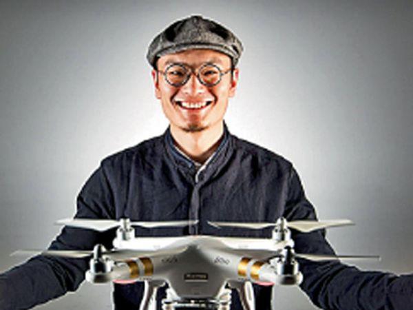 फ्रँक वांग संस्थापक आणि सीईआे, डीजेआय टेक्नॉलॉजी   जगातील सर्वात मोठी खासगी ड्रोन कंपनी - Divya Marathi