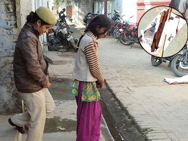 झोपेत असलेल्या भावाची गळा चिरून हत्या केल्याची कबुली बहिणीने दिली. - Divya Marathi