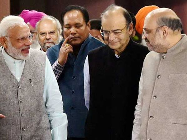 मोदींनी पक्षाच्या MP\'s आणि MLA\'s यांचे बँक डिटेल्स मागवले आहे. - Divya Marathi