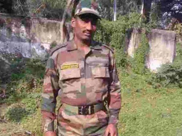 नांदेड जिल्ह्यातील संभाजी कदम नागरोटा भागातील हल्ल्यात शहीद झाले. - Divya Marathi