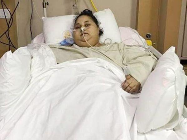 इमानच्या बहिणीने डॉक्टर मूर्ख बनवत असल्याचा आरोप केला. - Divya Marathi