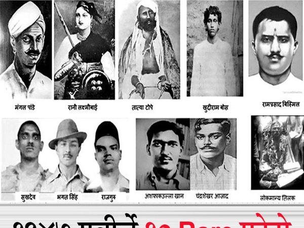 असे दिसत होते आपले अमर सेनानी: 1847 च्या गदर पासून ते संसदेत बॉम्ब फेकून ब्रिटिश शासनाला चेतावणी देणाऱ्या काही निवडक क्रांतिकारकांचे खरे फोटो... - Divya Marathi