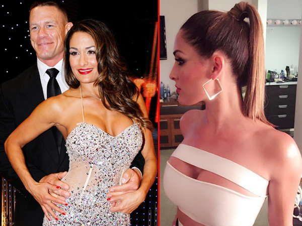 WWE स्टार जॉन सीना आणि त्याची गर्लफ्रेंड निक्की बेला.... - Divya Marathi