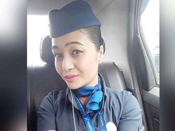 खासगी विमानसेवेत लीड केबिन अटेेंडंट होती क्लारा. - Divya Marathi