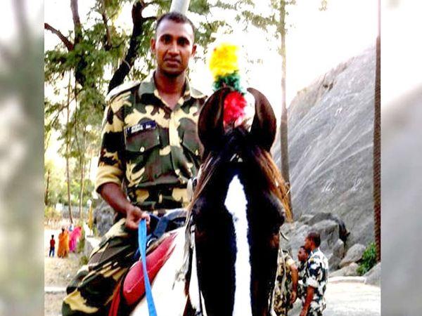 स्वातंत्र्यदिनी चंदन कुमार यांना शौर्य चक्राने सन्मानित करण्यात आले. - Divya Marathi