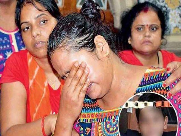 मेरे बाबू को वापस ला दो... ही आर्त हाक आहे त्या मुलाच्या आईची ज्याची शुक्रवारी शाळेच्या टॉयलेटमध्ये डेडबॉडी सापडली. - Divya Marathi