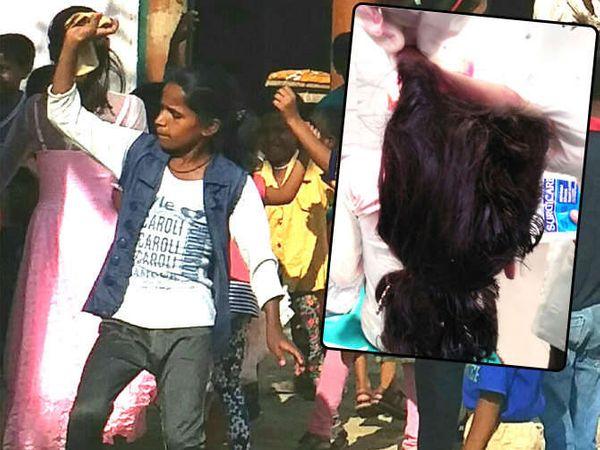 डीजेच्या तालावर 12 वर्षाची मुलगी डान्स करत होती. अचानक तिचे केस जनरेटरमध्ये अडकले आणि अपघात घडला. - Divya Marathi