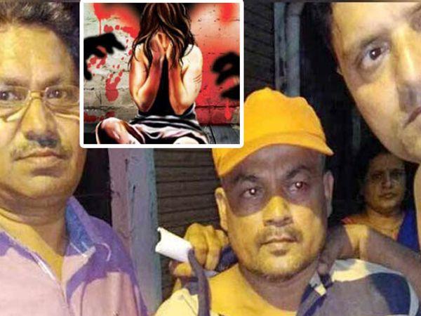 पोलिसांनी नराधम चपराशाला अटक केली आहे. - Divya Marathi