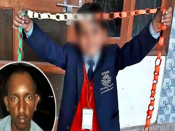 इन्सेट आरोपी. त्याने बालकावर अनैसर्गिक अत्याचाराचा प्रत्यन केला. मुलगा ओरडल्याने त्याचा गळा चिरून खून केला. - Divya Marathi