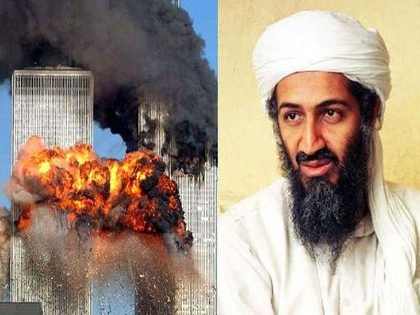9/11 हल्ल्याचा फोटो आणि सूत्रधार लादेन... - Divya Marathi