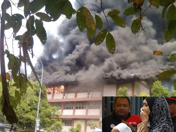 पहाटेच्या सुमारास ही आग लागली. - Divya Marathi