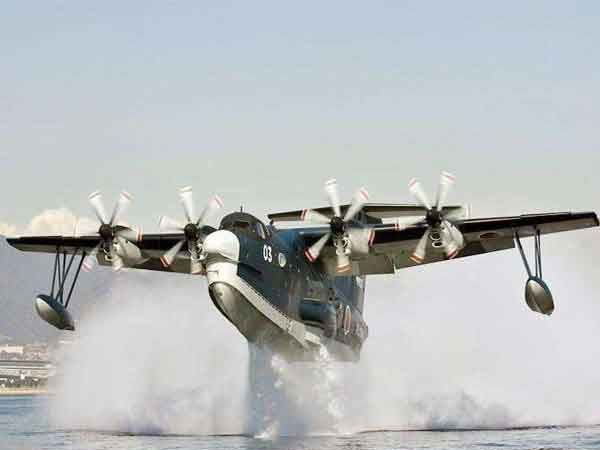 यूएस-2 एम्फिबियस एयरक्राफ्ट.... - Divya Marathi