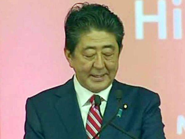 जपानचे पंतप्रधान शिंजो आबे यांनी पंतप्रधान मोदींसह बुलेट ट्रेन प्रकल्पाचे उद्घाटन केले. - Divya Marathi