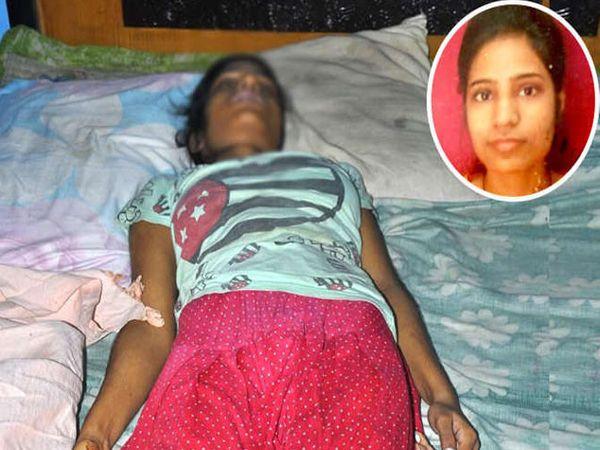 शिवानीने पंख्याला लटकून आत्महत्या केली. - Divya Marathi