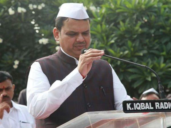 मुख्यमंत्री देवेंद्र फडणवीस (छाया: अरुण तळेकर) - Divya Marathi