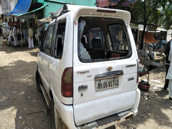 अपहरणासाठी वापरण्यात आलेले वाहन. - Divya Marathi
